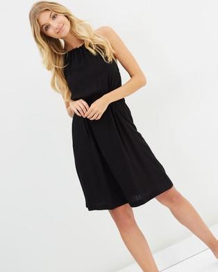 Atmos & Here – Angelica Midi Dress Black