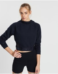 Under Armour - Unstoppable Move Crop Hoodie