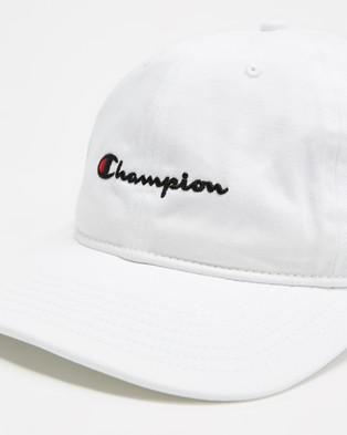 Champion C Logo Cap   Teens - Headwear (White)