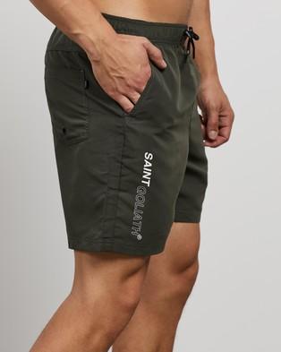 St Goliath Tom Yum Ew Shorts 2 Pack - Shorts (Khaki & Tan)