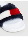 Tommy Hilfiger - Funny Fur Pool Slides - Women's