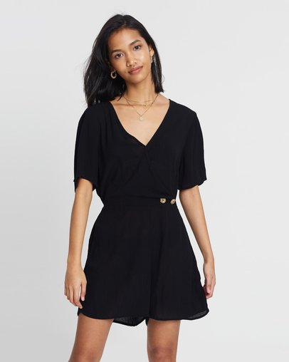 21f6c26463 Woven Angie Cap Sleeve Playsuit by Cotton On Online