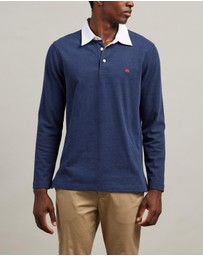 BROOKS BROTHERS - Solid Rugby Polo