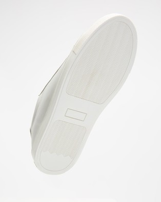 AERE Basic Leather Sneakers - Sneakers (White Leather)