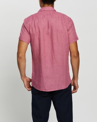 Rodd & Gunn Ellerslie Sports Fit Shirt - Casual shirts (Rose)