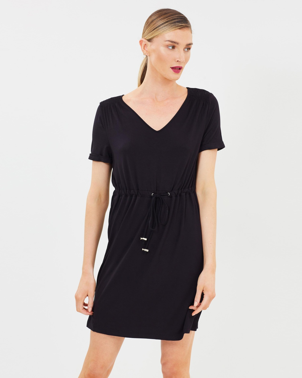 Dorothy Perkins T Shirt Dress Dresses Black T-Shirt Dress