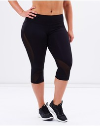 Curvy Chic Sports - Mesh Sculpt Tights