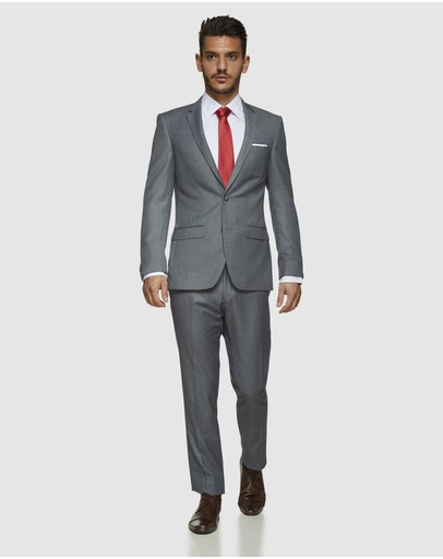 Kelly Country Bruton David Suit Set Grey