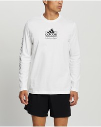 adidas Performance - Cassette Tape Long Sleeve Tee