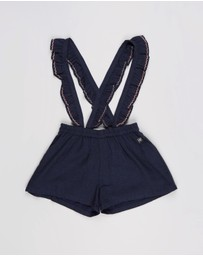 Carrément Beau - Shorts With Straps - Kids