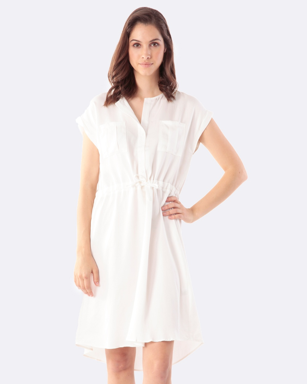 Amelius Poppy Dress Dresses White Poppy Dress