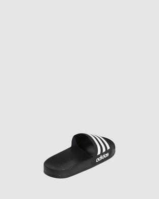 adidas Performance Adilette Shower Slides - Sandals (Black/White)
