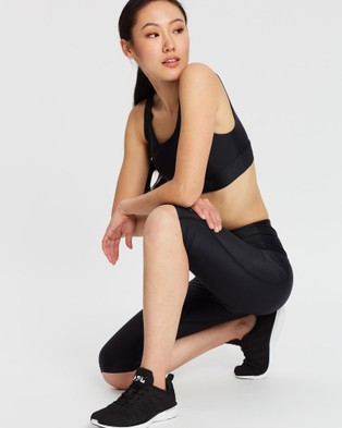 MORE BODY Companion Sartorius Long Shorts - 1/2 Tights (Black)