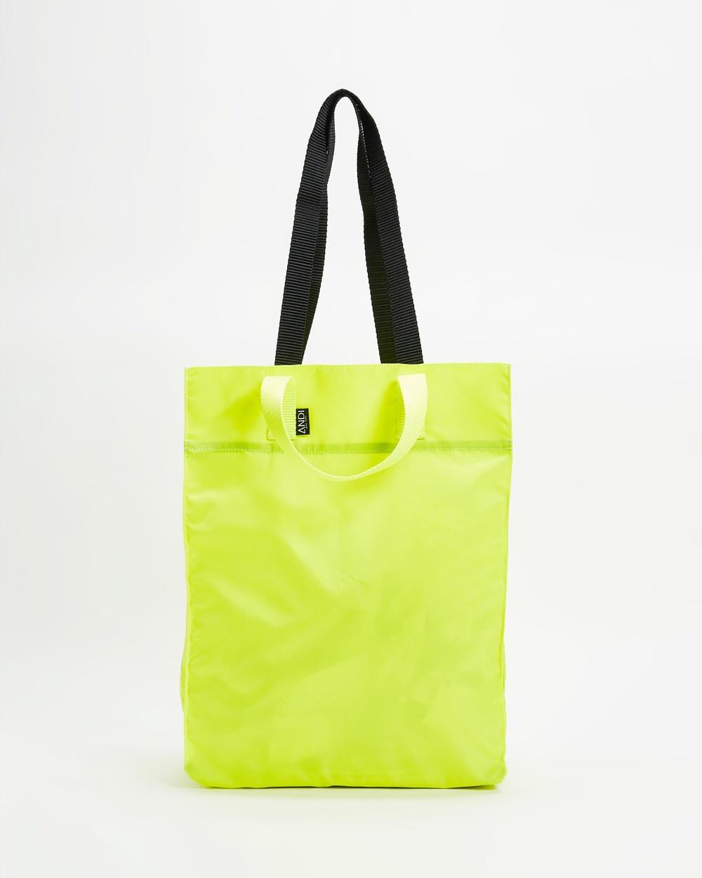 ANDI New York The Origami Tote Bags Neon Lemon