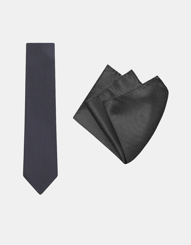 Buckle - Micro Spot Tie & Pocket Square Set