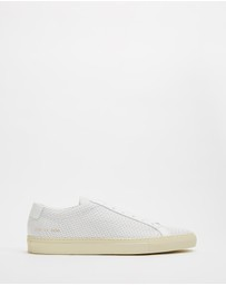 Common Projects - Achilles Low Perforated - Men's
