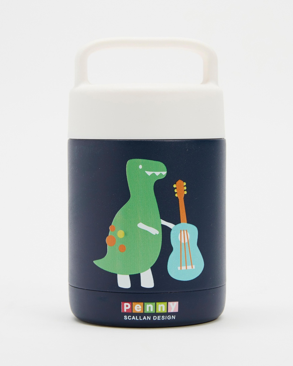 Penny Scallan Thermal Flask Kids Lunchboxes Dino Rock