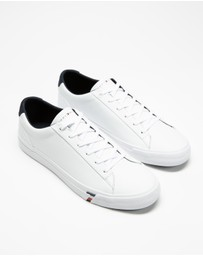 Tommy Hilfiger - Corporate Leather Sneakers - Men's