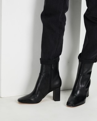 ALDO - Theliven Heeled Ankle Boots - Boots (Black) Theliven Heeled Ankle Boots