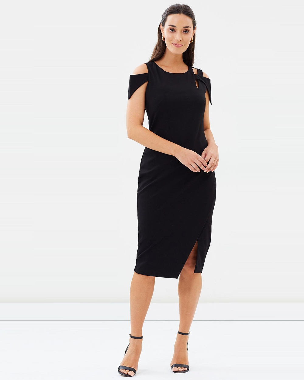 Pink Ruby Sabine Cut Out Dress Dresses Black Sabine Cut-Out Dress