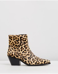 Atmos&Here - Overton Leather Ankle Boots