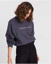 Assembly Label - Logo Fleece Sweater
