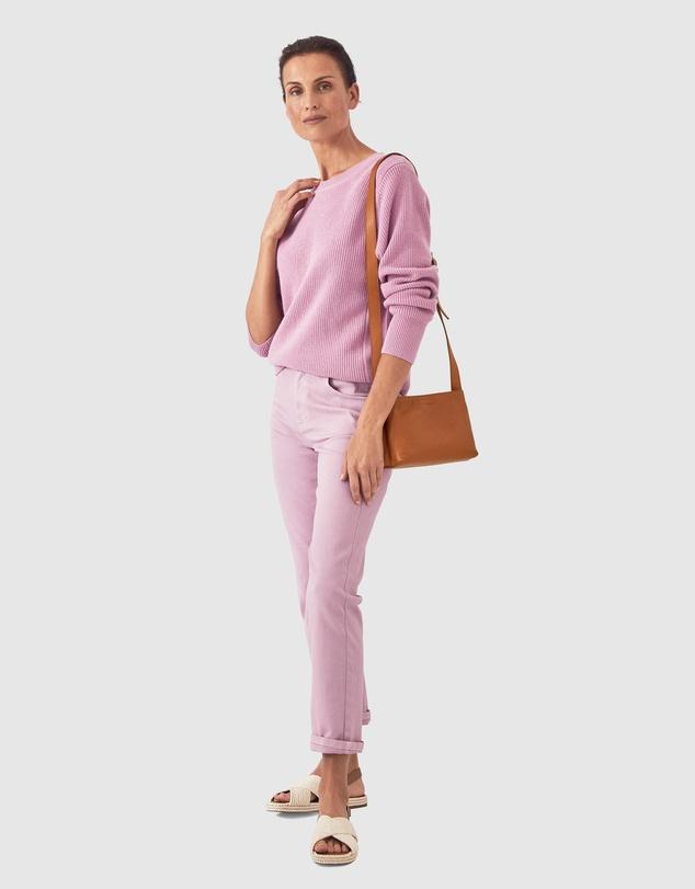 Women Cotton Cashmere Side Detail Knit