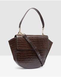 Oxford - Belinda Croc Shoulder Bag