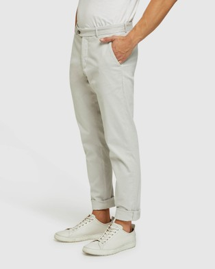 Oxford - Luka Stretch Casual Pants (Grey)