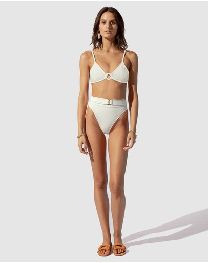 Suboo Kaia Bralette Top Ivory