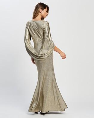 Montique Serafina Gown - Bodycon Dresses (Gold)