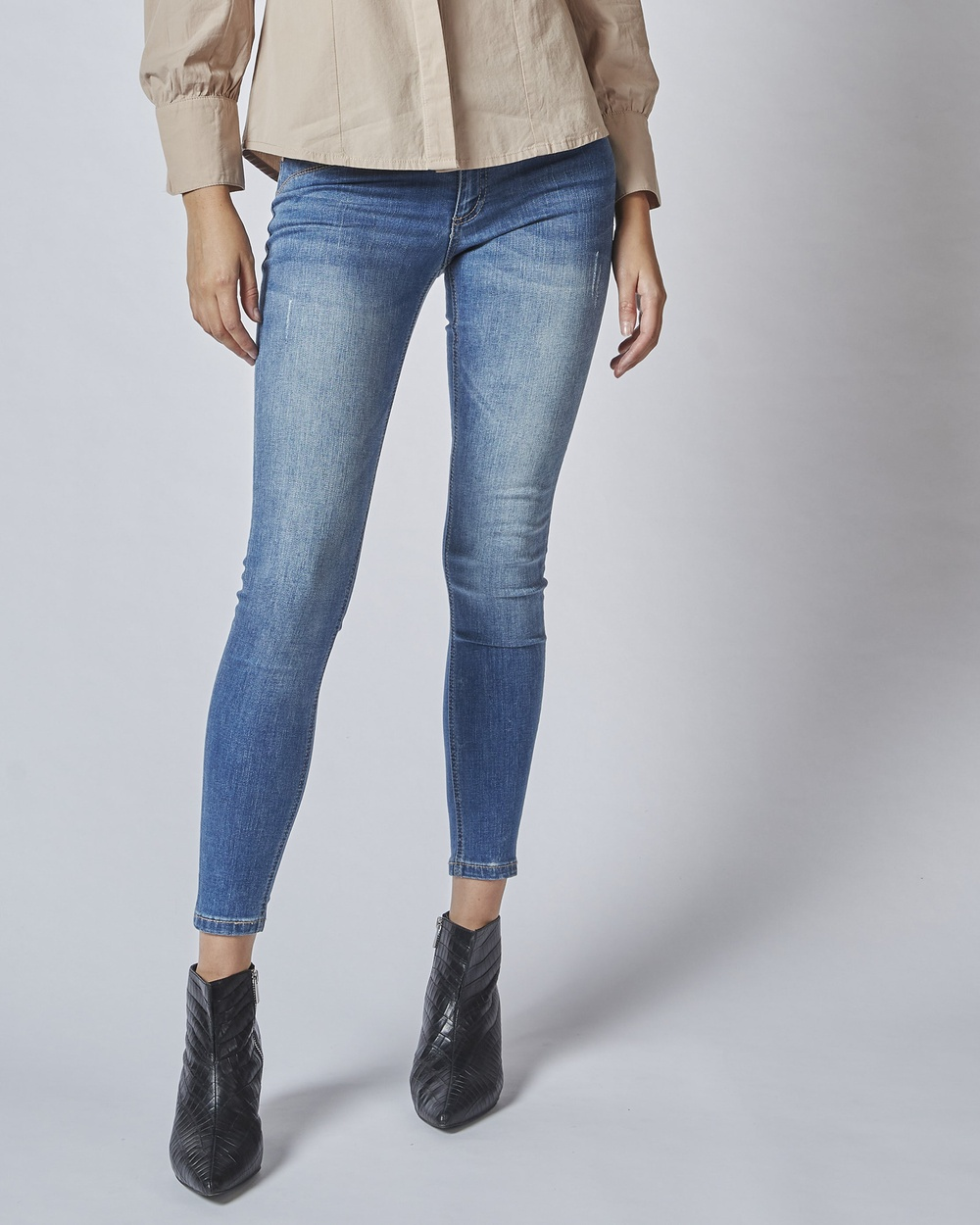 DRICOPER DENIM Lauren Insider Jeans Slim Mountain Blue