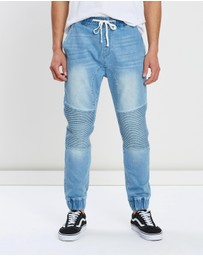 Staple Superior - Biker Denim Jogger Pants