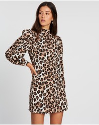Dazie - Prima Donna Leopard Mini Dress