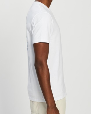Rusty Two Step Short Sleeve Tee - T-Shirts & Singlets (White)