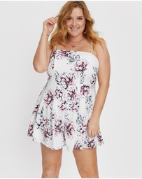 You & All - Floral Print Playsuit