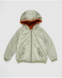 Cotton On Kids - Annie Reversible Bomber Jacket - Kids-Teens