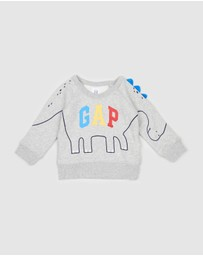 babyGap - 3D Logo Graphic Sweater - Babies