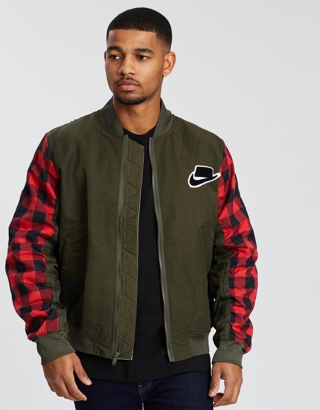 fb0263f10 Sportswear Synthetic Fill Bomber Jacket