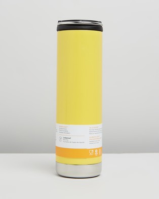 Klean Kanteen TKWide Vacuum Insulated 20oz with Cafe Cap - Home (Buttercup)