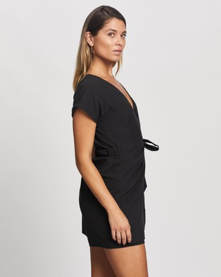 Atmos&Here Ana Playsuit - Jumpsuits & Playsuits (Black)