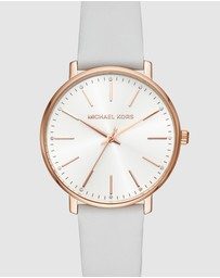 Michael Kors - Pyper White Analogue Watch