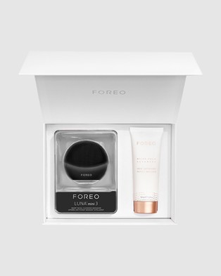 Foreo Start Clean Gift Set   Midnight (Limited Edition)