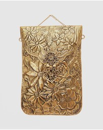 From St Xavier - Jasmine Clutch Gold