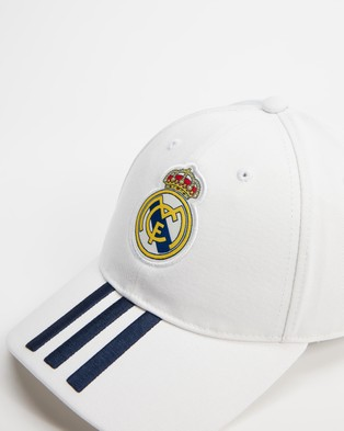 adidas Performance Real Madrid Baseball Cap - Headwear (White & Dark Blue)