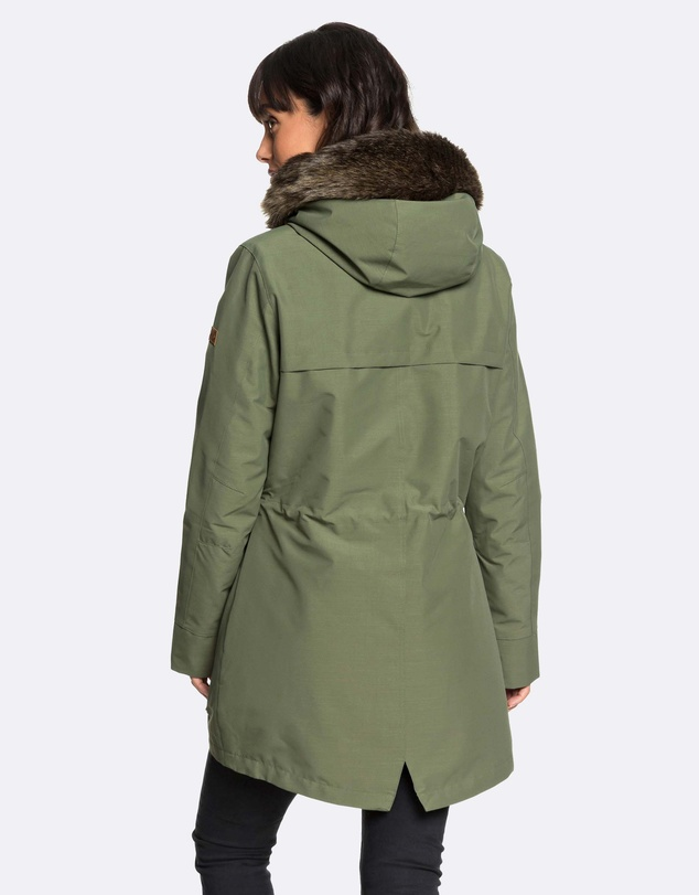 Roxy - Womens Amy 3-In-1 Water Repellent Parka Jacket