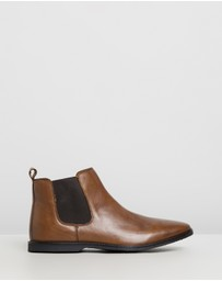 Staple Superior - Oslo Leather Gusset Boots
