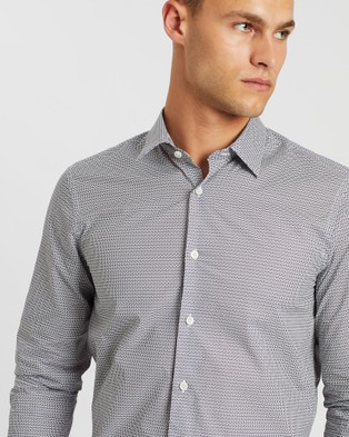 Gieves and Hawkes Long Sleeve Shirt - Shirts & Polos (White)