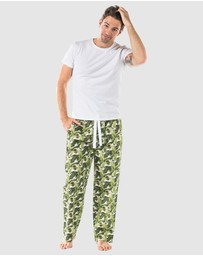 Sant And Abel - Banana Leaf Pyjama Pants