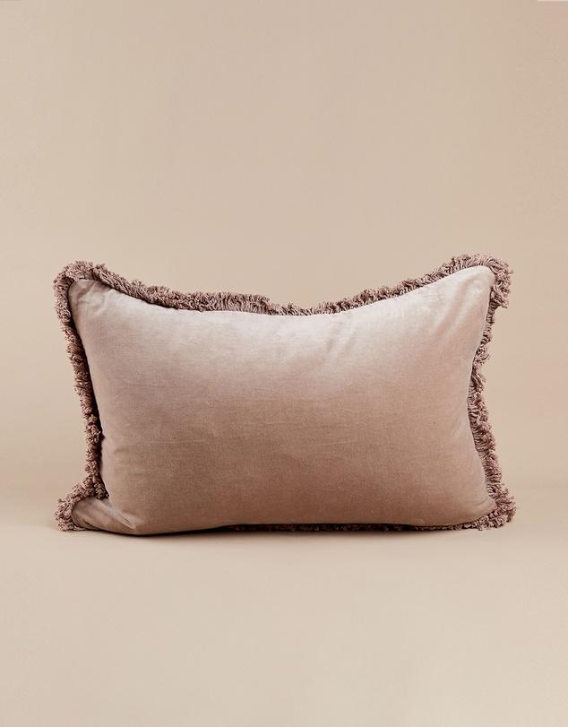 Life Velvet Lumbar Cushion
